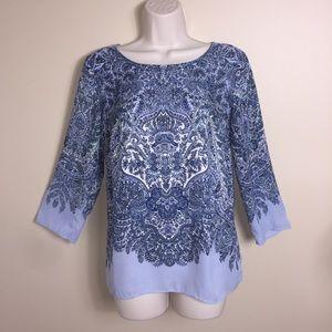 Rose & Olive Boho print tunic